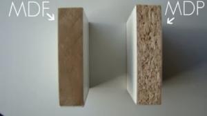 mdf e mdp diferença entre dos materiais