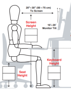 medidas antropométricas para mesa para home office