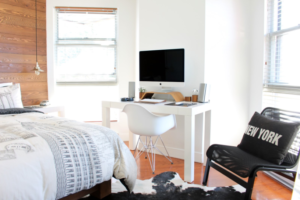 mesa clássica para home office