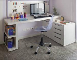 Mesa em L para Home Office Mesa para escritório