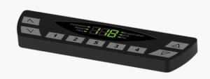 interface de mesa com regulagem de altura automatizada