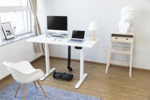 Mesa para escritório SlikDesk High ambientada 4