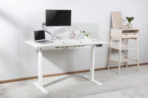 Mesa para escritório SlikDesk High ambientada
