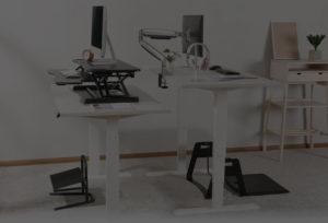 Mesas com regulagem para escritório SlikDesk