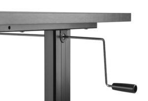 Manivela para Ajuste de altura manual da Mesa para escritório SlikDesk Light Way