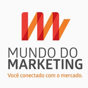 logotipo do mundo do marketing