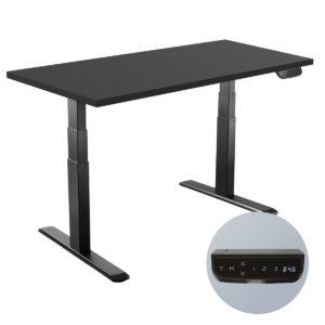 Slikdesk High é uma mesa com regulagem de altura automatizada